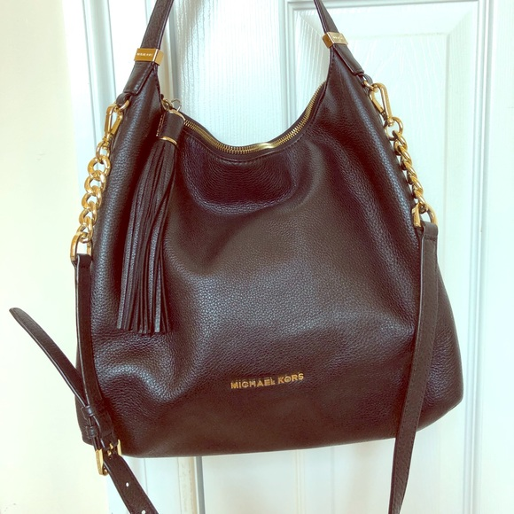 058dc7ea7cfcc4 Michael Kors Bags | Michael Brooklyn Large Leather Bag | Poshmark